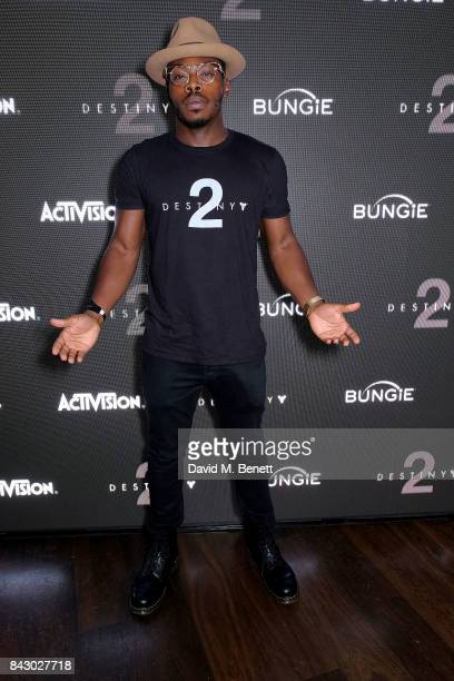 Clement Marfo attends the Destiny 2 launch event on PlayStation 4 Available from Wednesday 6th September 2017 #Destiny2 at Mondrian Hotel on...