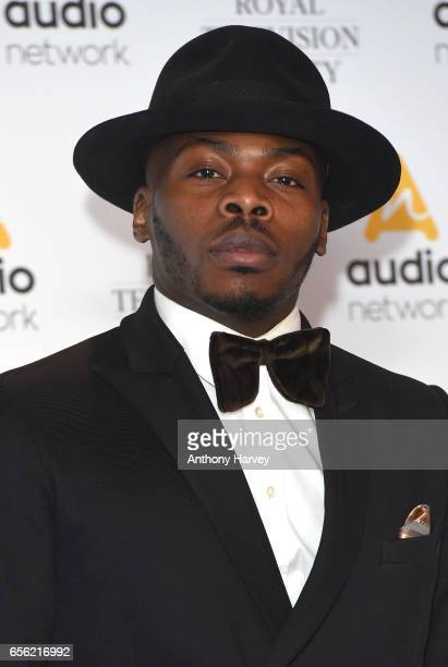Clement Marfo attends the Royal Television Society Programme Awards on March 21 2017 in London United Kingdom