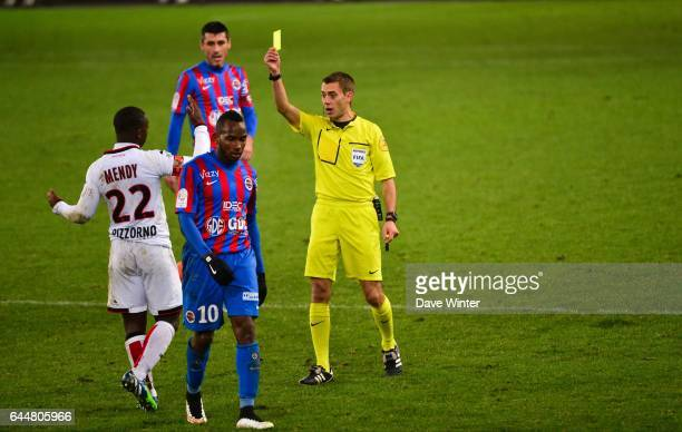 Clement TURPIN / Nampalys MENDY Caen / Nice 17eme journee de Ligue 1 Photo Dave Winter / Icon Sport