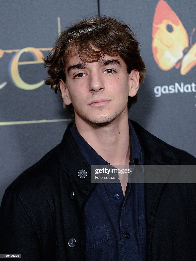Clemente Lecquio attends the premiere of 'The Twilight Saga: Breaking Dawn - Part 2' (La Saga Crepusculo: Amanecer- Parte 2) at kinepolis Cinema on November 15, 2012 in Madrid, Spain.