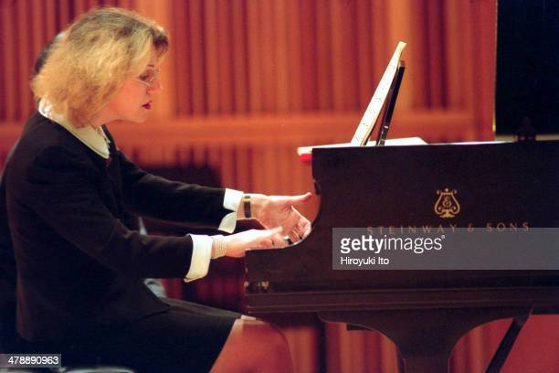 'Clementi Keyboard Extravaganza' at CUNY Graduate Center on Saturday February 1 2003 They all played the music of Muzio ClementiThis imageSara Davis...