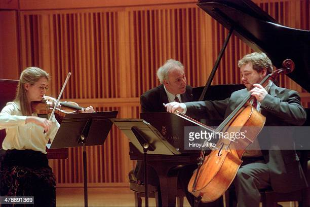 'Clementi Keyboard Extravaganza' at CUNY Graduate Center on Saturday February 1 2003 They all played the music of Muzio ClementiThis imageFrom left...