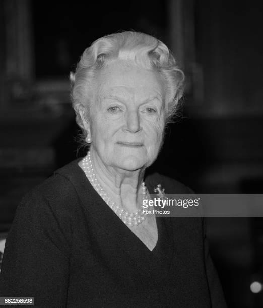 Clementine Churchill Baroness SpencerChurchill the widow of Sir Winston Churchill 20th April 1971