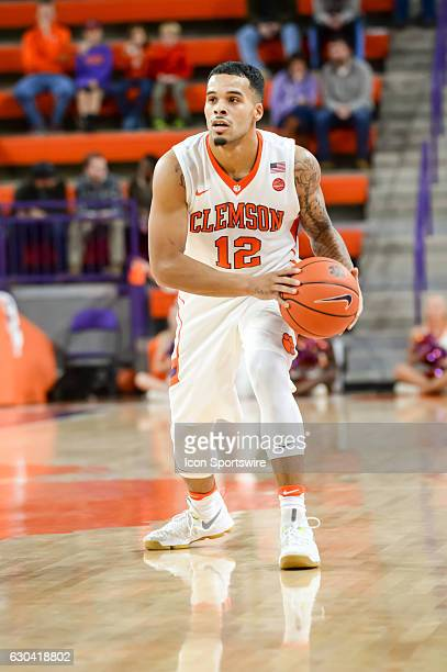 Clemson guard Avry Holmes during 2nd half action between the Clemson Tigers and the South Carolina State Bulldogs on December 13 2016 at Littlejohn...