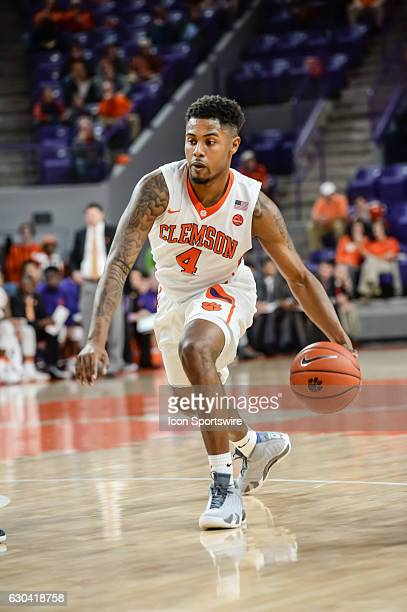 Clemson guard Shelton Mitchell during 1st half action between the Clemson Tigers and South Carolina State Bulldogs on December 13 2016 at Littlejohn...