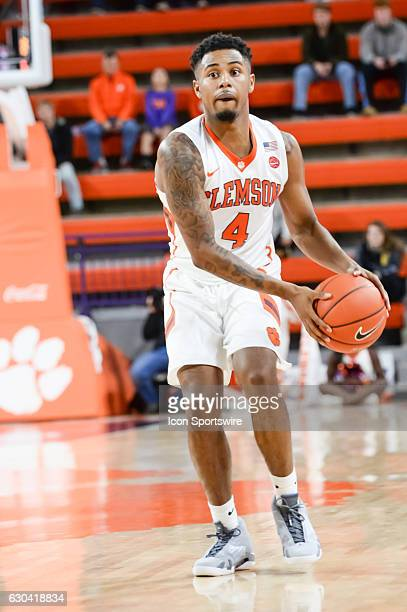 Clemson guard Shelton Mitchell looks to pass during 2nd half action between the Clemson Tigers and the South Carolina State Bulldogs on December 13...