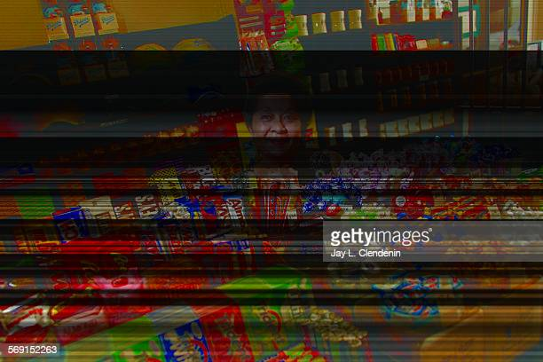 Clendenin Jay L ––134869TM0306phillipeJLC –– Ramona Alvarado has been working at the candy counter for the last five years where she says hot mustard...