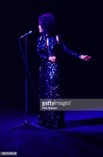 Cleo Laine performing on stage London circa 1990