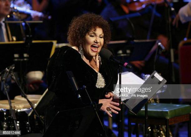Cleo Laine performs 'From Bards To Blues' as part of the 2007 BBC Proms Season at the Royal Albert Hall central London