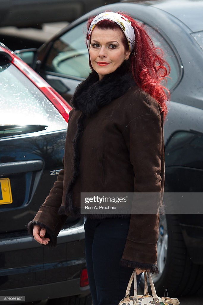 <a gi-track='captionPersonalityLinkClicked' href=/galleries/search?phrase=Cleo+Rocos&family=editorial&specificpeople=827415 ng-click='$event.stopPropagation()'>Cleo Rocos</a> attends the funeral of entertainer, producer and reality television star David Gest at Golders Green Crematorium on April 29, 2016 in London, England.