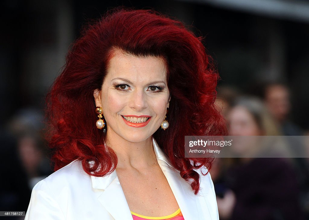 <a gi-track='captionPersonalityLinkClicked' href=/galleries/search?phrase=Cleo+Rocos&family=editorial&specificpeople=827415 ng-click='$event.stopPropagation()'>Cleo Rocos</a> attends the UK premiere of 'Noah' at Odeon Leicester Square on March 31, 2014 in London, England.