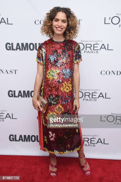 Cleo Wade attends Glamour's 2017 Women of The Year Awards at Kings Theatre on November 13 2017 in Brooklyn New York