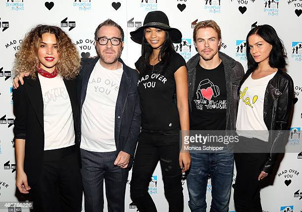 Cleo Wade DreamYard Board Member and Founder of Mad Over You Ian Madover Chanel Iman Derek Hough and Leigh Lezark attend the BronxWrites' BronxWide...