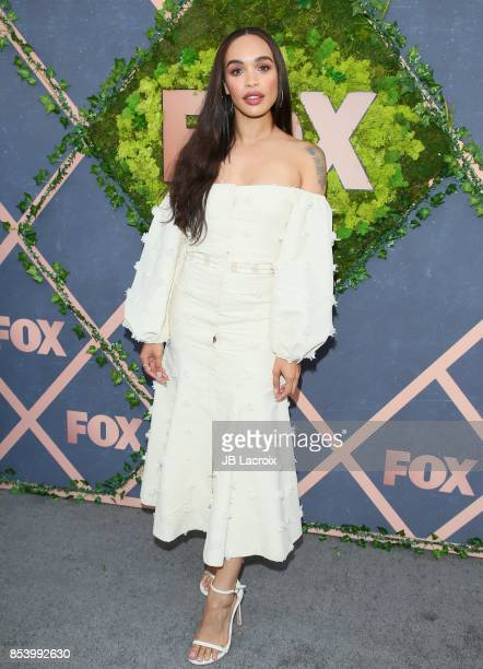 Cleopatra Coleman attends the FOX Fall Party on September 25 2017 in Los Angeles California