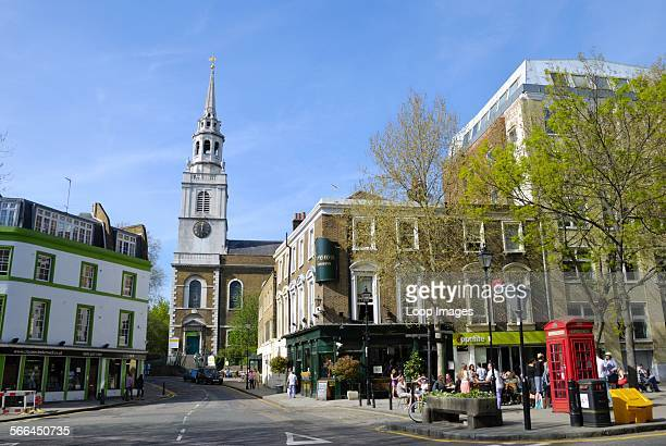 Clerkenwell Green and St James's Church