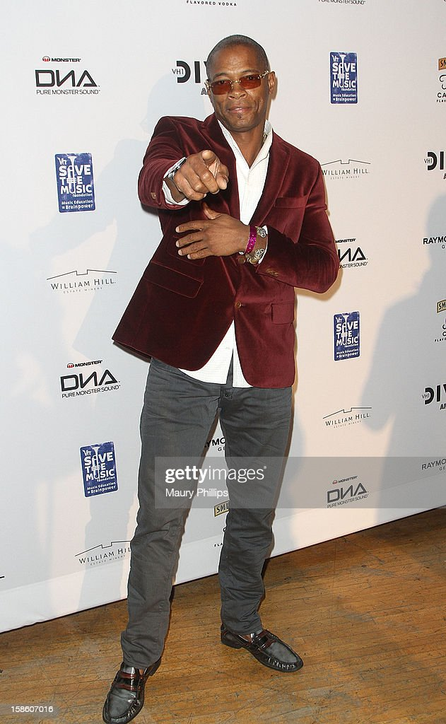 Cletus attends the Official VH1 Divas after party to benefit VH1 Save The Music Foundation at The Shrine Expo Hall on December 16, 2012 in Los Angeles, California.