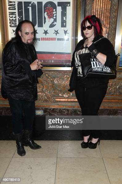 Cleve Hall and Constance Hall are seen on May 14 2014 in Los Angeles California