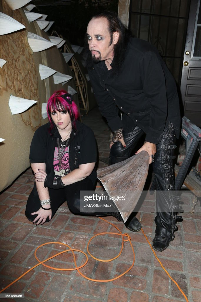 Cleve Hall and Constance Hall are seen on September 14 2014 in Los Angeles California