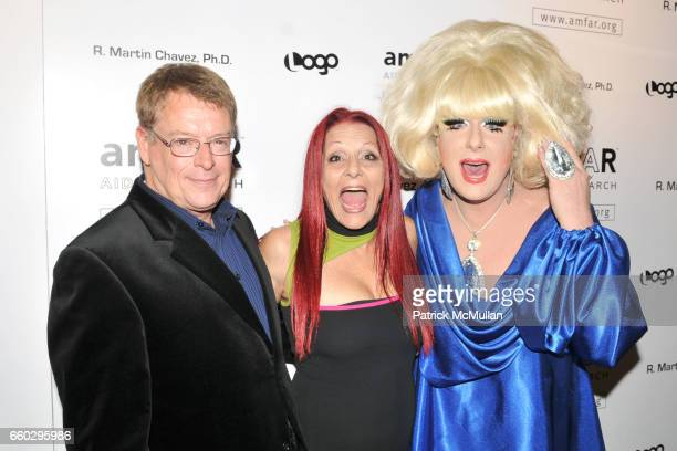Cleve Jones Patricia Field and Lady Bunny attend AMFAR's Tenth Annual HONORING WITH PRIDE Celebration Hosted by ALAN CUMMING at Edison Ballroom on...