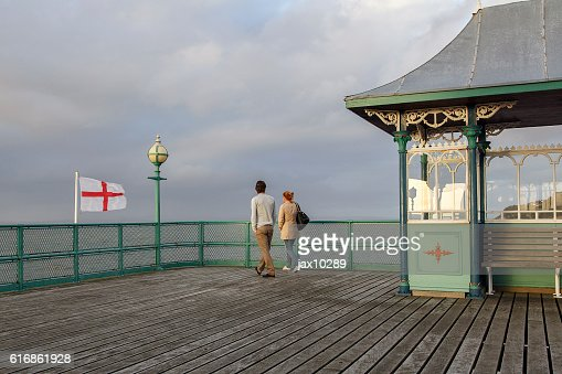 Clevedon Pier : Stock Photo
