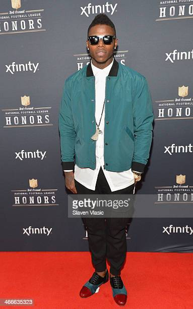 Cleveland Browns wide receiver Josh Gordon attends the 3rd Annual NFL Honors at Radio City Music Hall on February 1 2014 in New York City