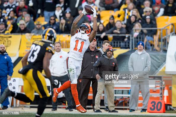 NFL: JAN 01 Browns at Steelers : News Photo