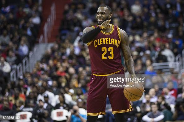 Washington Wizards vs Cleveland Cavaliers : News Photo