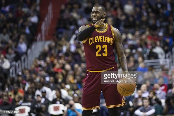 Washington Wizards vs Cleveland Cavaliers : News Photo
