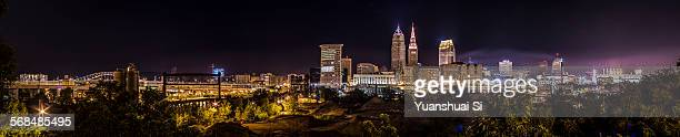 Cleveland Downtown full panorama