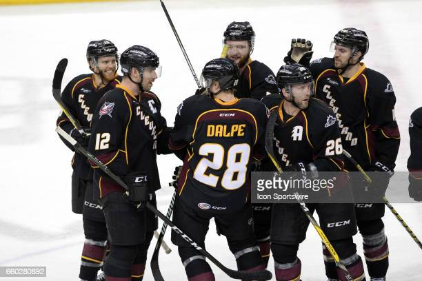 Cleveland Monsters C TJ Tynan Cleveland Monsters LW Ryan Craig Cleveland Monsters LW Nick Moutrey Cleveland Monsters D Jaime Sifers and Cleveland...