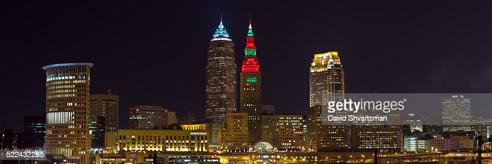 Cleveland Skyline at night