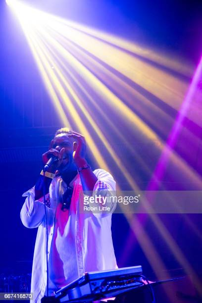 Cleveland Watkiss performs at The Jazz Cafe on April 11 2017 in London United Kingdom