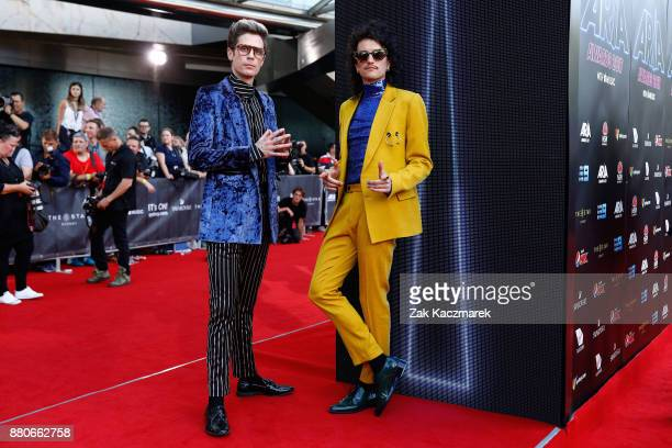 Client Liaison arrives for the 31st Annual ARIA Awards 2017 at The Star on November 28 2017 in Sydney Australia