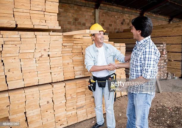 Kunde redet, carpenter