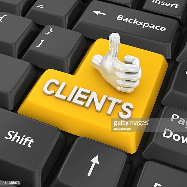 clients enter key