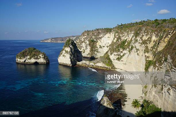 Cliff at Nusa Penida Island