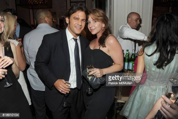 Cliff Comfort and Samantha Jones attend HP CONDE NAST and BERGDORF GOODMAN 'Sex The City 2' After Party at Bergdorf Goodman on May 25 2010 in New...