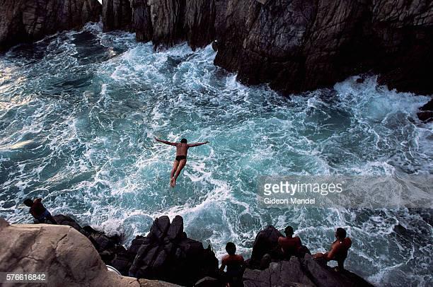 Cliff Divers at La Quebrada