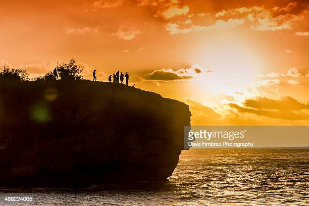 Cliff Divers - Shipwreck's Beach - Poipu Hawaii