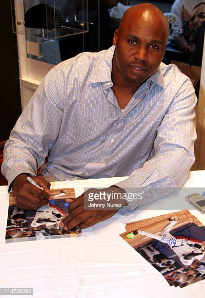 Cliff Floyd during NewEra New York Store Opening May 20 2006 at NewEra New York Store in New York City New York United States