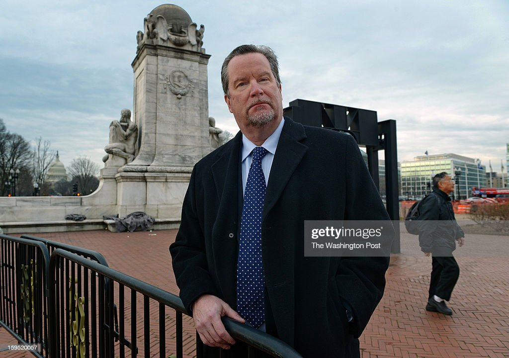 Cliff Kincaid, who runs America's Survival, a collection of web-based groups, on January, 11, 2013 in Washington, DC.