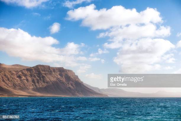cliff lanzarote archipielago chinijo
