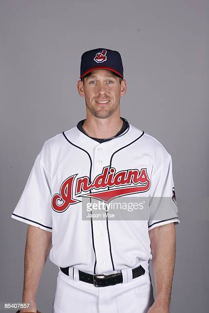 Cliff Lee of the Cleveland Indians poses during Photo Day on Saturday February 21 2009 at Goodyear Ballpark in Goodyear Arizona