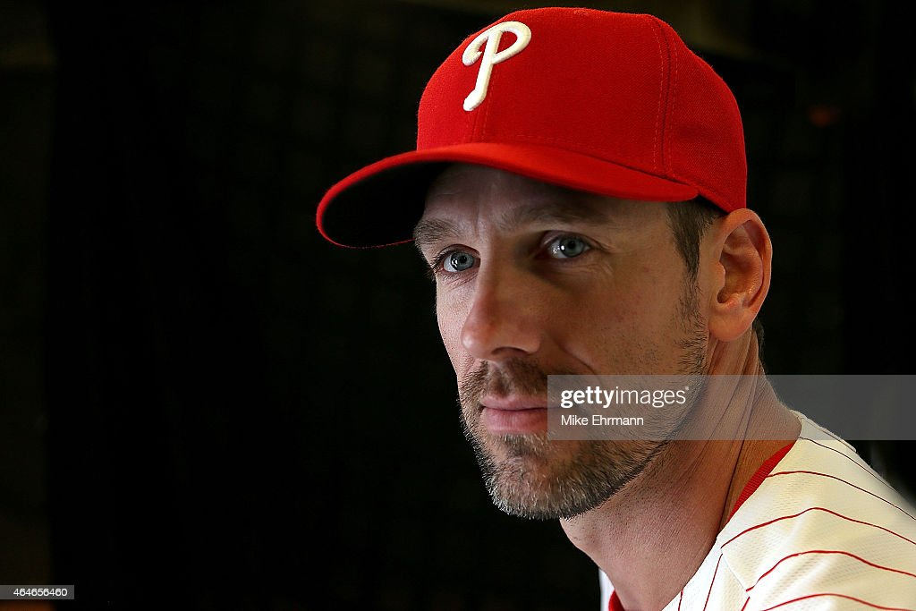 <a gi-track='captionPersonalityLinkClicked' href=/galleries/search?phrase=Cliff+Lee&family=editorial&specificpeople=218092 ng-click='$event.stopPropagation()'>Cliff Lee</a> #33 of the Philadelphia Phillies poses for a portrait during photo day at Brighthouse Stadium on February 27, 2015 in Clearwater, Florida.