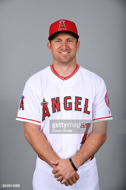 Cliff Pennington of the Los Angeles Angels poses during Photo Day on Tuesday February 21 2017 at Tempe Diablo Stadium in Tempe Arizona