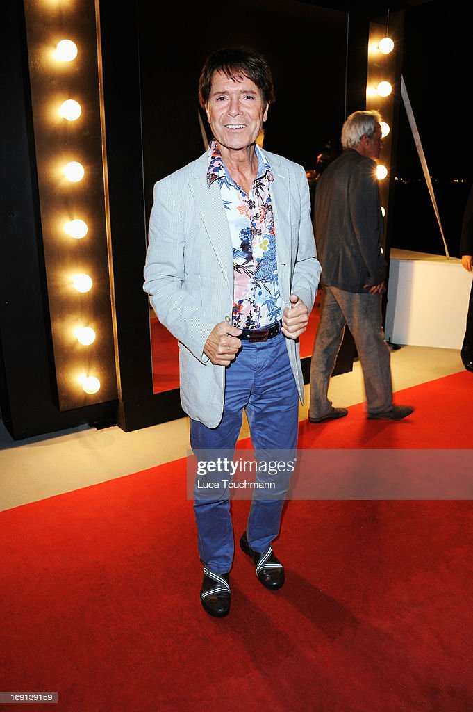 Cliff Richards attends the German Films reception during the 66th Annual Cannes Film Festival at the Majestic Beach on May 20, 2013 in Cannes, France.