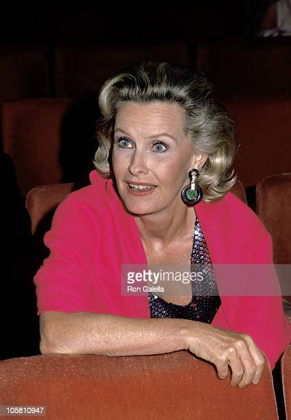 Cliff Robertson and Dina Merrill during Broadway Theater Benefit in New York City New York United States