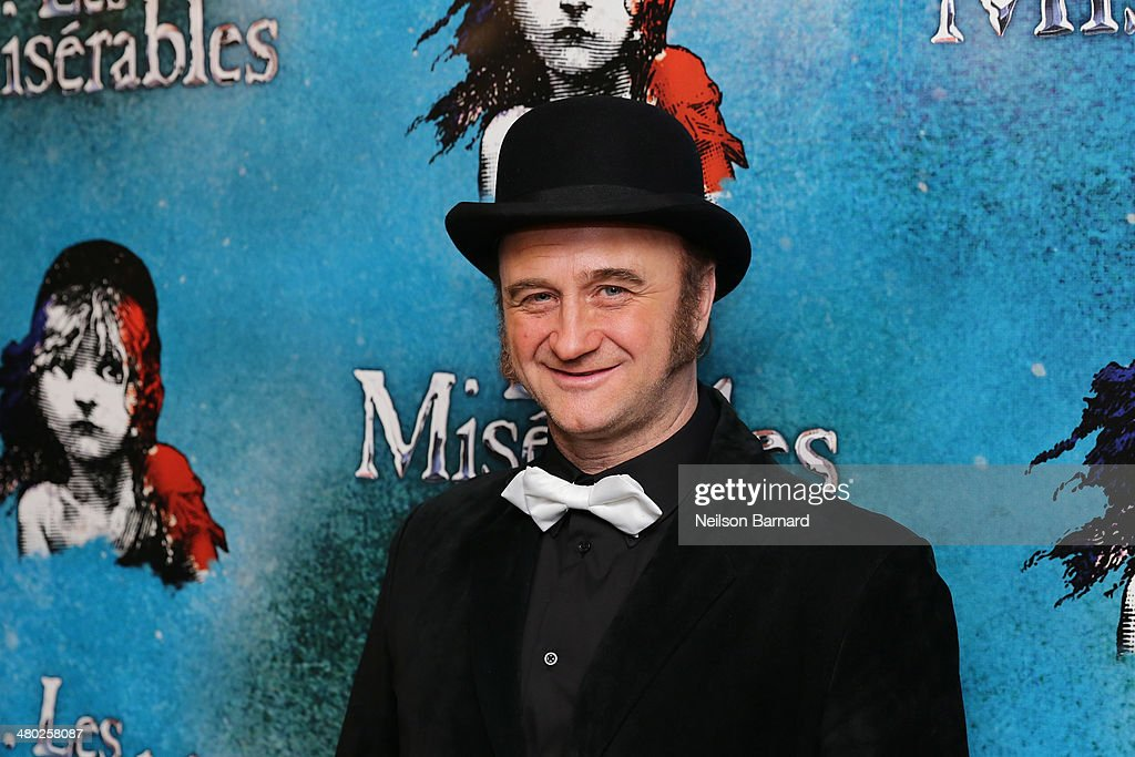 Cliff Saunders attends the opening night of Cameron Mackintosh's new production of Boublil and Schonberg's 'Les Miserables' on Broadway at The Imperial Theatre on March 23, 2014 in New York City.