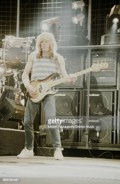 Cliff Williams at Donington Park Circuit England August 17 1981