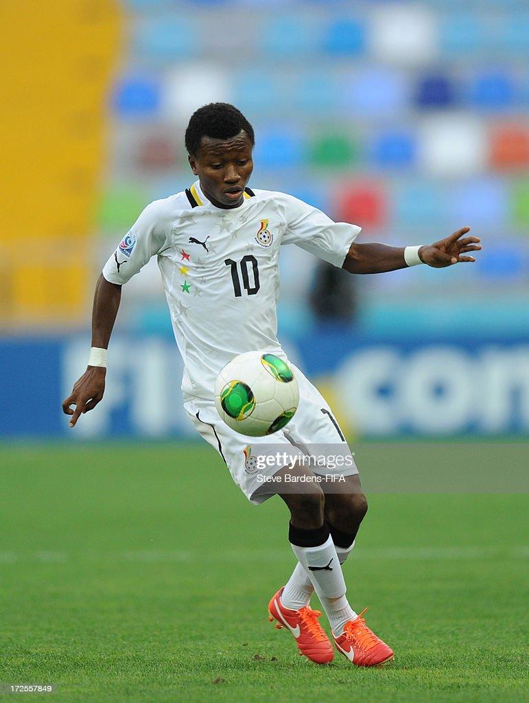 Clifford Aboagye of Ghana iin action during the FIFA U20 World Cup Round of 16 match between Portugal and Ghana at Kadir Has Stadium on July 3, 2013 in Kayseri, Turkey.